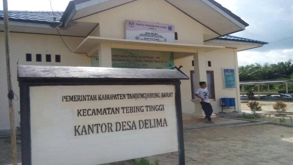 Website Resmi Desa Delima